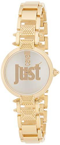 Just Cavalli Just Mio Uhr JC1L076M0095 - Damen beschichteter Edelstahl Quarz Analog