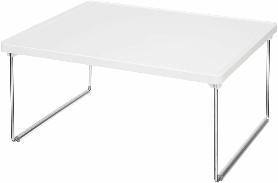 4 NEW Pcs of Kitchen Storage Shelf - Ranking TOP6 Organizer White Plastic Metal