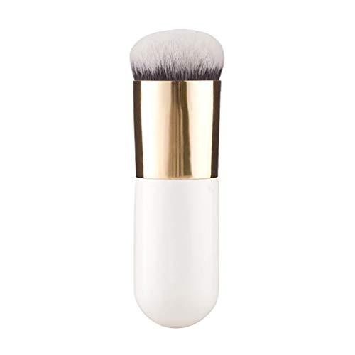 Fond de teint Pinceaux, Fulltime Fond de teint Brosse Crème Plate Pinceaux de Maquillage Cosmétique Brosse Outils