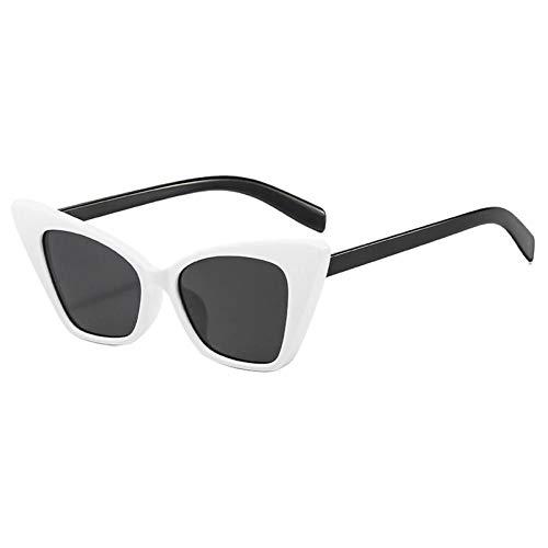 ZZOW Ins Popular Fashion Women Cat Eye Gafas De Sol Vintage Trending Beige Blue Eyewear Men Shades Uv400 Retro Sun Glasses