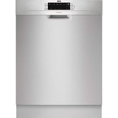 AEG FFB53940ZM Freestanding Dishwasher with Airdry Technology, 14 place settings, Stainless Steel