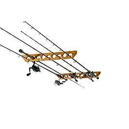 Organized Fishing Support de Plafond Horizontal pour Canne à pêche