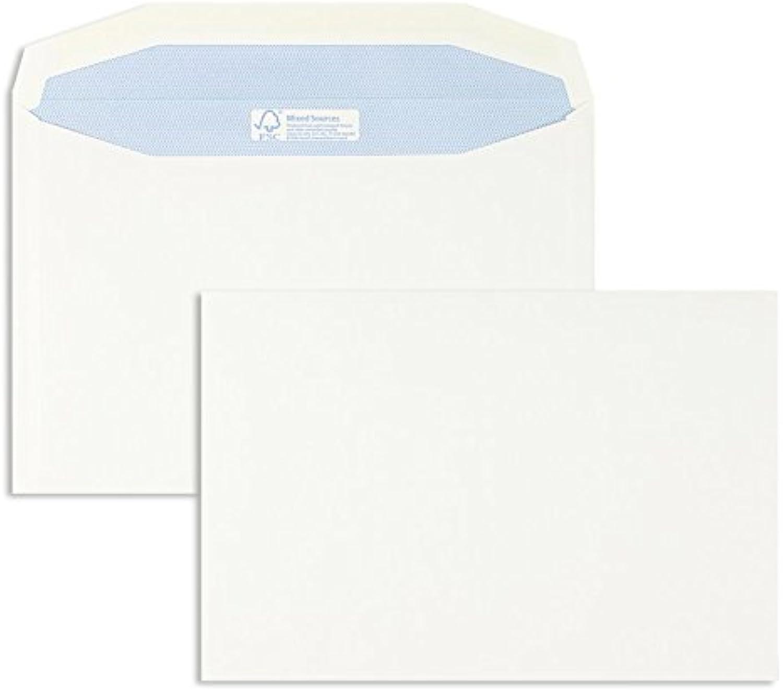 KuGrünierhüllen   Premium   162 x 229 mm (DIN C5) Weiß (500 Stück) Nassklebung   Briefhüllen, KuGrüns, CouGrüns, Umschläge mit 2 Jahren Zufriedenheitsgarantie B00FPO4IOA | Reichlich Und Pünktliche Lieferung