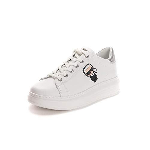 Karl Lagerfeld Iconic Lo Lace Damen Sneaker Weiß