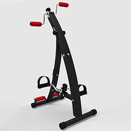 HXFENA Bicicleta Estática,Equipo Portátil De Rehabilitación De Golpes con Masaje Y Resistencia Variable, Ayuda A Mejorar La Circulación,para Entrenamiento De Ejercicios En Casa