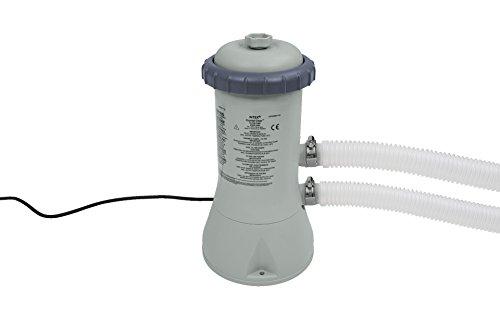 Intex Filtre Pompe 12 V Gris 3.406 l/h / 90 W