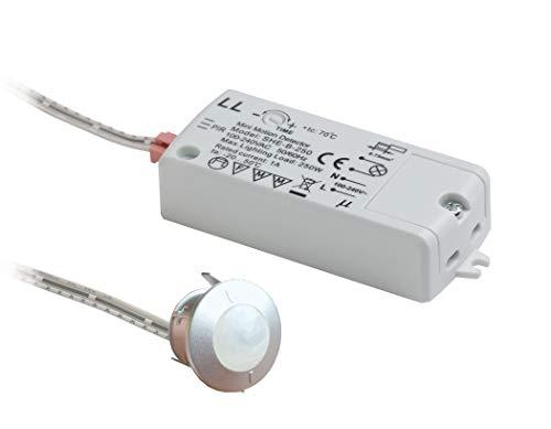 Leyton Lighting PIR Sensor Switch (SENTIM, 2.5m range, adjustable time delay)