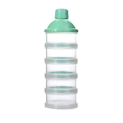 hong Wu 5 Schichten Baby-milchpulverspender Bewegliche Nahrungsmittel Behälter-Speicher-Feeding Box (Random) 1pc