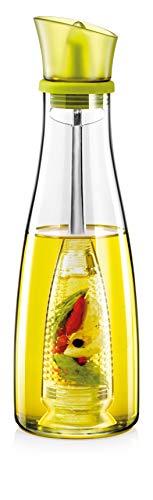 Tescoma 642762 Vitamino Oliera con Infusore, Vetro, Verde, 500 ml, 1 Pezzo
