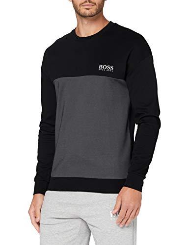 BOSS Herren Tracksuit Sweatshirt, Black1, XL