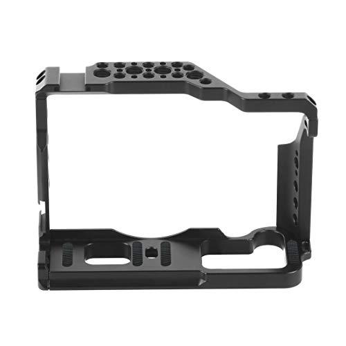 Cobeky Estabilizador de la jaula de la cámara, jaula de video de la cámara de la aleación de aluminio para Fuji X-T3 X-T2