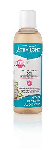 Activilong Acticurl Hydra Gel–Activador de rizos Pitaya Glycerin Aloe Vera 200ml