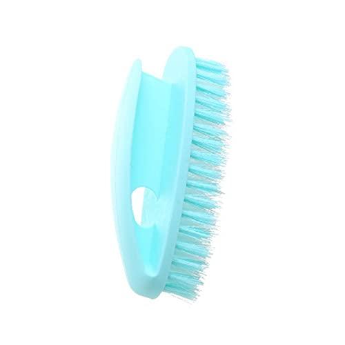 Cfiret Und ist wohlhabend zu lagern, Nicht intelligente Hände, Secondhand für Badewannen und Fliesen, formfähige Borsten-Reinigungsbürste für den Haushalt (Color : Blue)