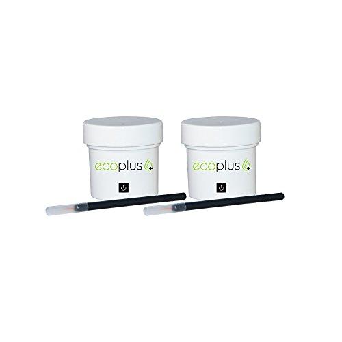 Touch Up Paint Ecoplus+ Color & Clear-coat 1oz Chip Scratch Repair Kit - Isuzu Hombre U8555 Black