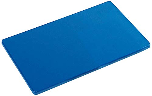 Kesper 30142 HACCP Schneidebrett Kunststoff Gastronorm 1/2, 32,5 x 26,5 x 1,5 cm, blau