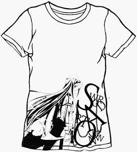 SAO2×LIVERTINEAGE SAO2キリトモノクロTシャツ WHT M