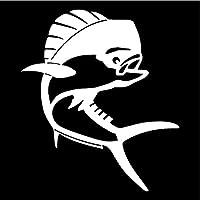 5 ピース 車のステッカーウォールアートデカール15.4 * 17.6CMイルカ漫画のボディーデコレーションデカール動物の魚のステッカー車のスタイリングアクセサリー