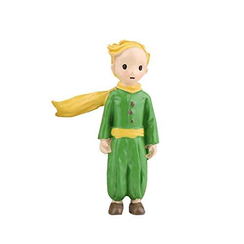 XDXY ambachten klein standbeeld kleine prins figuren Rose kinderen kind miniaturen Bonsai Mos Terrarium Decor