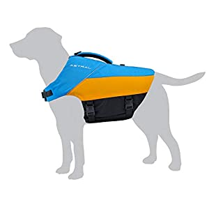 Astral BirdDog Dog Life Jacket PFD for Swimming and Water Play, Ol' Blue