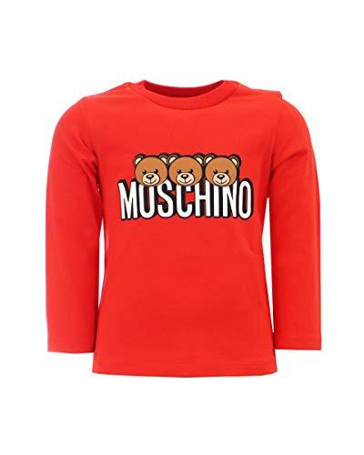 Moschino - Camiseta con logotipo de Teddy para bebé rojo 80 cm/12-...
