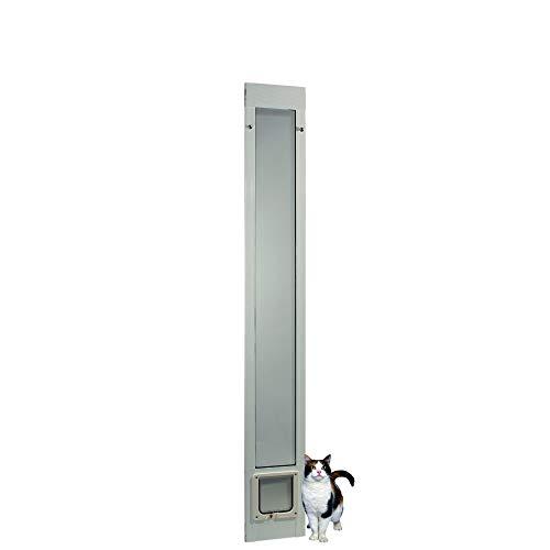 """Ideal Pet Products 80"""" Fast Fit Aluminum Pet Patio Door"""