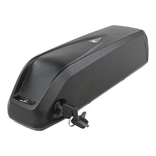 X-go Batería de ion de litio para bicicleta eléctrica, 48 V, 13 Ah, con cargador y placa protectora BMS, para 500 W, 750 W, 1000 W (48 V, 13 Ah)