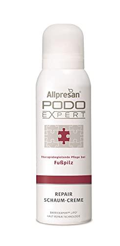 Allpresan Crema reparadora Podo Expert para pies de hongos, 125 ml
