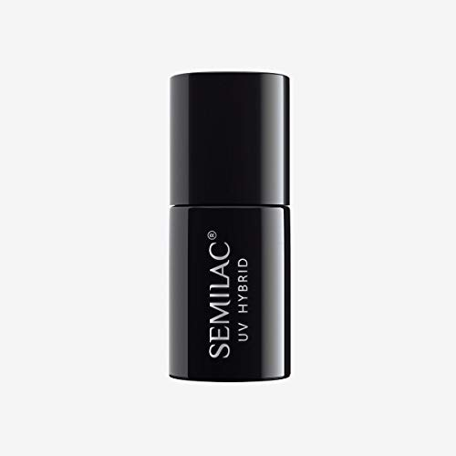 Semilac Vitamin Base Nail Polish | 7 ml | Vitamins E and B5 | Strengthening UV LED Base Coat Soak Off Gel for Nail Protection | Perfect for Home and Professional Manicure and Pedicure