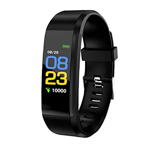 Impermeable Banda Pantalla 1pc Pulsera Color Plus Sport Reloj Podómetro Banda De Fitness Bluetooth