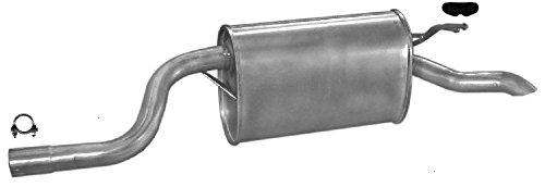 ETS-EXHAUST 50390 Silenziatore marmitta Posteriore + kit di montaggio (pour PUNTO II 1.2 HATCHBACK 60/80hp 1999-2006)