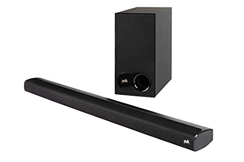 Polk Audio Signa S2 TV Soundbar mit Subwoofer, HDMI ARC, Bluetooth, Dolby Digital, AUX, optischer Eingang