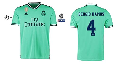 Real Madrid Trikot Herren 2019-2020 Third UCL - Sergio Ramos 4 (M)