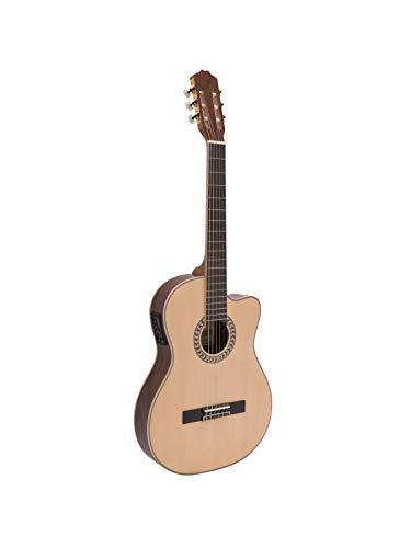 Guitarra de concierto WILLIAM con cuerpo estrecho y fonocaptor, madera - Clásica / Instrumento de cuerda - showking