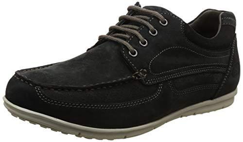 Woodland Men's Dnavy Leather Sneaker-10 UK/India (44 EU)-(GC 2567117)
