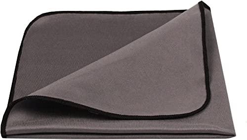 Wonder Shine® Tuch für Lackmöbel/Hochglanz Tuch • Ultrafein • für Glanzflächen in Küche/Wohnung • für empfindliche Glanz- und Lackmöbel • Made in Germany • 1 Stück, 30x30 cm