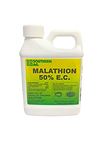 Southern Ag 07662 Malathion 50% E.C. Broad Spectrum Insecticide, 16oz