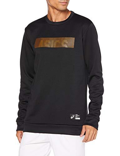 [アシックス] バスケットボールウエア スウェットクルーネックシャツ 2063A151 パフォーマンスブラック 日本 XL (日本サイズXL相当)