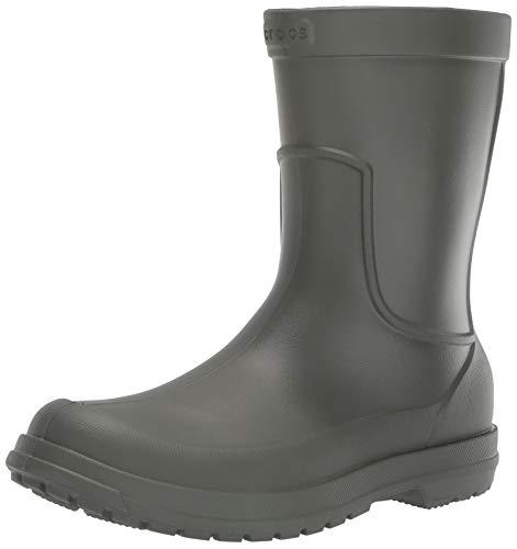 Crocs AllCast Rain Boot Men, Herren Gummistiefel, Grün (Dusty Olive/Dusty Olive), 42/43 EU42/43 EU