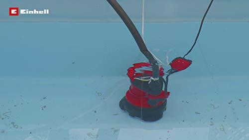 Einhell GE-DP 5220 LL ECO – Bomba de aguas sucias (520W, capacidad de 13500 l/h, profundidad max. de inversión 7m…