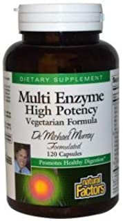 Dr. Murray's Multi Enzyme Vegetarian Formula - Natural Factors - 120 - VegCap