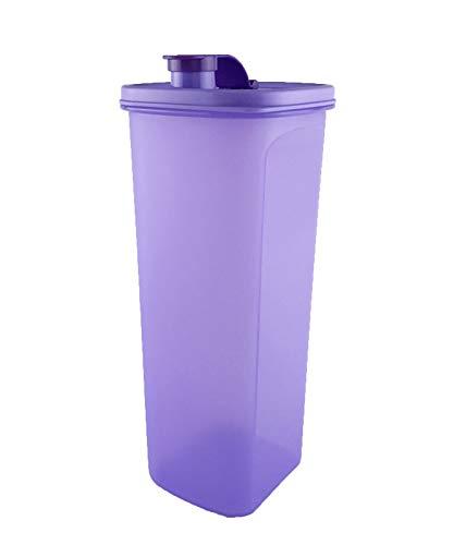 Tupperware Lila Getränkekrug Slim-Line Kühlschrank Wasser Krug Becher 2,0 l