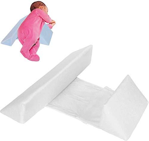 2021 New Baby Side Sleeper Wedge, Almohada antideslizante de algodón para el reflujo del sueño infantil, Cuña con diseño de inclinación de 45 °, Almohada de leche antiesperma para 0~3 años