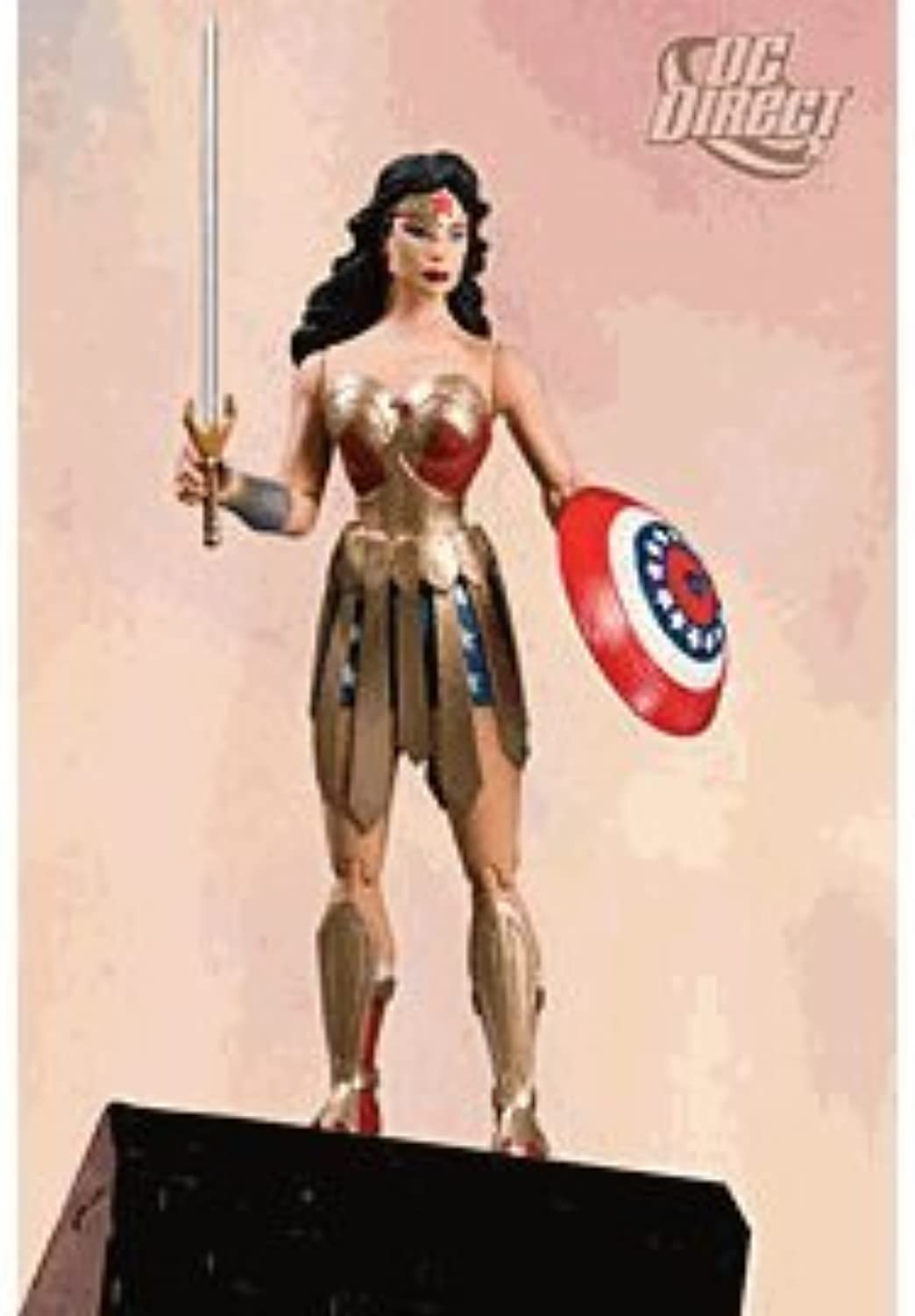 Trinity Action Figure  6.25 Wonder Woman by Diamond Comic Distributors