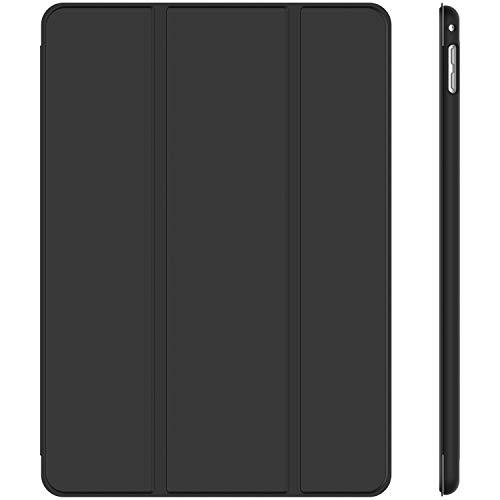 JETech Hülle Kompatibel Apple iPad mini 4, Schutzhülle mit Ständer Funktion & Auto Schlafen/Wachen, Schwarz
