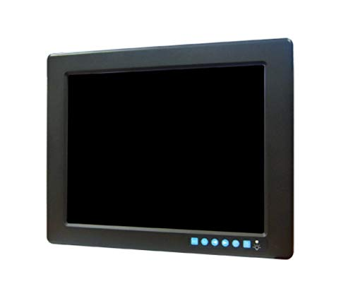 (DMC Taiwan) 12.1 inches SVGA Industrial Monitor with Resistive Touchscreen, Direct-VGA, DVI and Wide Operating Temperature