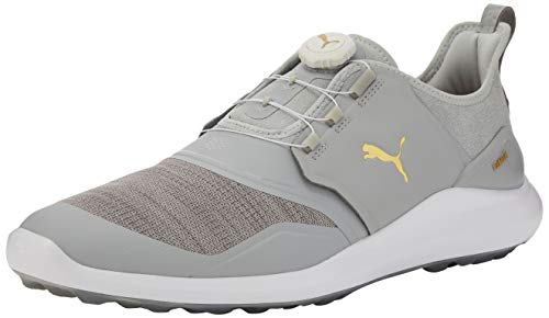 Puma Herren Ignite Nxt Disc Golfschuhe, Blau (HIGH Rise Team Gold White 03), 47 EU