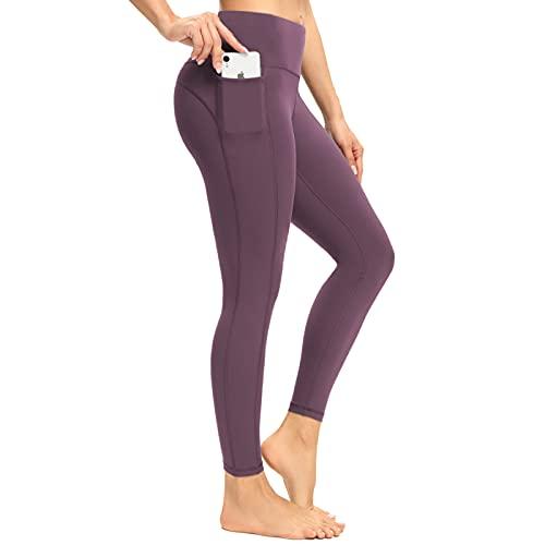 neppein Leggins Mujer,Pantalon Deporte Yoga Mujer,Cintura Alta Mallas Leggings para Fitness Running Training Estiramiento Yoga y Pilates