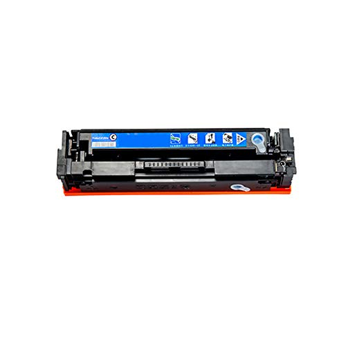HYYH Compatible for HP CF410A Toner Cartridge for HP Color Laserjet M452nw M452dn M477dw Printer Replacement with Chips, Clear and Burr Free Easy to Install Cyan