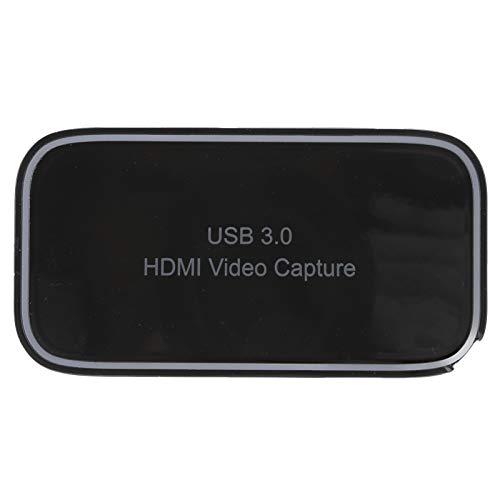 Tomanbery Material ABS Tarjeta de Captura de Juegos HDMI Tarjeta de Captura de Video fácil de Transportar Durable para Juegos Transmisión en Vivo para Juegos Transmisión en Vivo