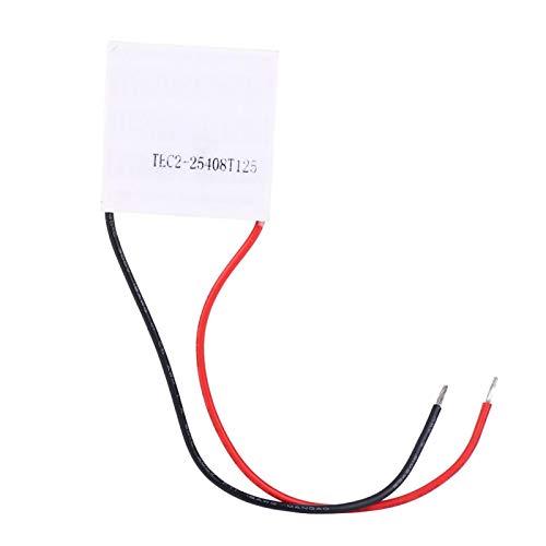 Hoja de enfriamiento de refrigeración, TEC2-25408 12V 8A Enfriador de semiconductores de hoja de enfriamiento de refrigeración de doble capa